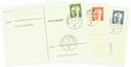 Postkarten-Dauerserien gebraucht