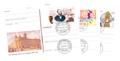 Postkarten-Sondermarken gebraucht