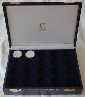 SC Luxuskassette für 60 20 EURO-Gedenkmünzen