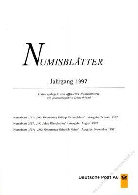 BRD 1997 Beschreibung für Numisblatt 1/1997