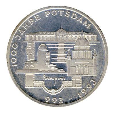 BRD 1993 J.455 10 DM 1000 Jahre Potsdam vz-st