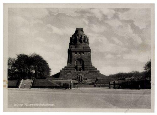 Gemeinschaftsausgaben 1947 Mi-Nr. 947 SSt. Leipzig 450 Jahre Messe-Privileg - Völkerschlachtdenkmal