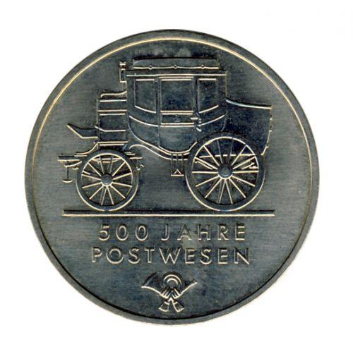DDR 1990 J.1631 5 Mark 500 Jahre Postwesen vz-st