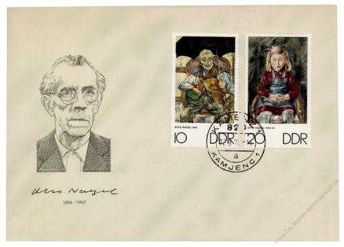DDR 1970 FDC Mi-Nr. 1607-1612 ESt. Kunstwoche