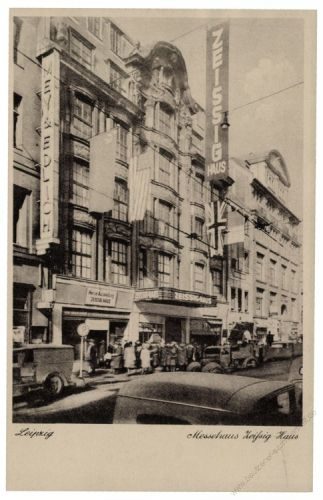 SBZ 1948 Mi-Nr. 186 SSt. Leipziger Herbstmesse - Messehaus - Zeissig-Haus