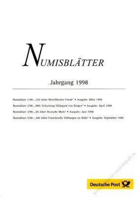 BRD 1998 Beschreibung Überblick