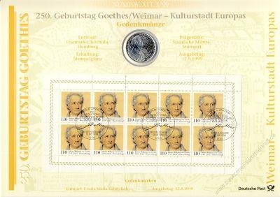 BRD 1999 Numisblatt 3/1999