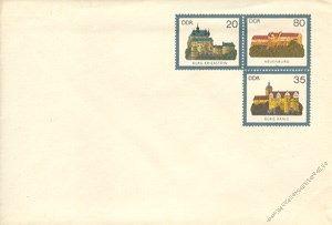 DDR 1984 Mi-Nr. U01 * Burgen der DDR