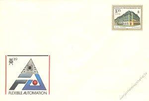 DDR 1989 Mi-Nr. U09 * Leipziger Frühjahrsmesse 1989