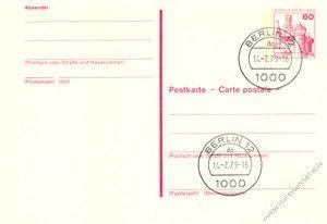 Berlin 1979 Mi-Nr. P110 o Burgen und Schlösser