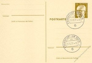 Berlin 1971 Mi-Nr. P081 o Dr. Gustav Heinemann