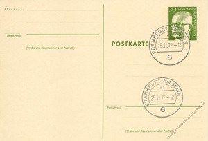 Berlin 1971 Mi-Nr. P083 o Dr. Gustav Heinemann