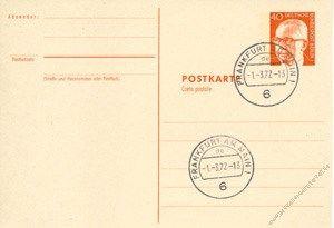 Berlin 1971 Mi-Nr. P084 o Dr. Gustav Heinemann