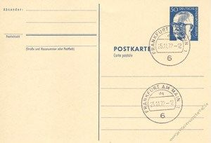 Berlin 1971 Mi-Nr. P085a o Dr. Gustav Heinemann