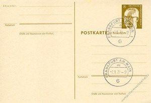 Berlin 1971 Mi-Nr. P086F/A o Dr. Gustav Heinemann