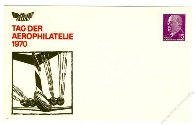 DDR Nr. PP010 C1/001a * Tag der Aerophilatelie 1970