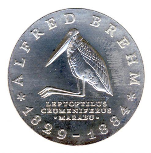 DDR 1984 J.1597 10 Mark Alfred Brehm st