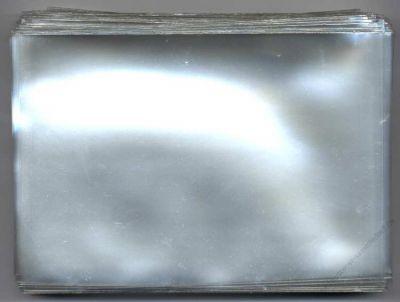 100 Ansichtskartenhüllen für neue AK - 100 x 155 mm