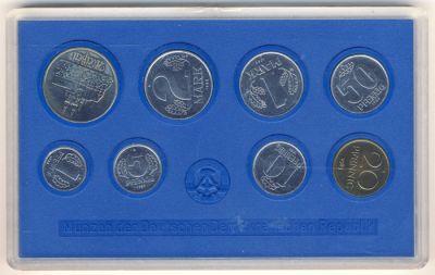 DDR 1983 Kursmünzensatz st (Export)