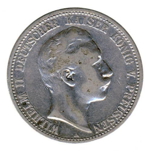 Preussen 1902 A J.102 2 Mark Wilhelm II. (1888-1918) ss