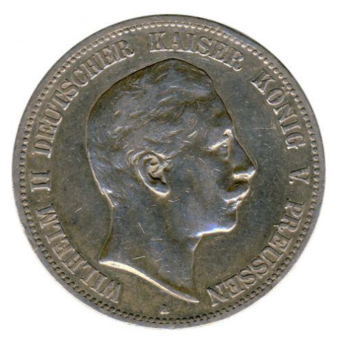 Preussen 1902 A J.104 5 Mark Wilhelm II. (1888-1918) ss