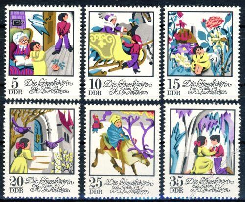 DDR 1972 Mi-Nr. 1801-1806 ** Die Schneekönigin