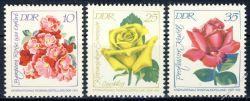 DDR 1972 Mi-Nr. 1778-1780 ** Internationale Rosenausstellung