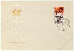 DDR 1958 FDC Mi-Nr. 662 ESt. 40. Jahrestag der Novemberrevolution