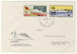 DDR 1960 FDC Mi-Nr. 768-771 SSt. FDGB-Urlauberschiff MS