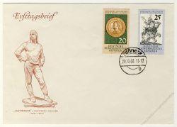 DDR 1960 FDC Mi-Nr. 791-792 ESt. 400 Jahre Dresdener Kunstsammlungen