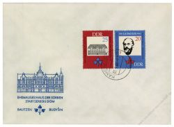 DDR 1966 FDC Mi-Nr. 1165-1166 ESt. 150. Geburtstag Jan Arnost Smoler