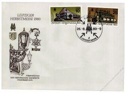 DDR 1980 FDC Mi-Nr. 2539-2540 SSt. Leipziger Herbstmesse