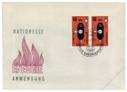 DDR 1981 FDC Mi-Nr. 2601 waag. Paar SSt. Rationelle Energieanwendung