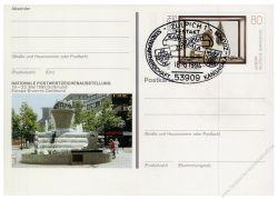 BRD 1993 Mi-Nr. PSo030 SSt. Nationale Postwertzeichenausstellung Dortmund
