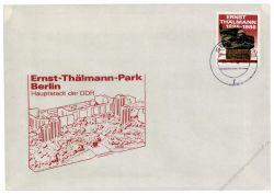 DDR 1986 FDC Mi-Nr. 3014 ESt. Übergabe des Ernst-Thälmann-Parks