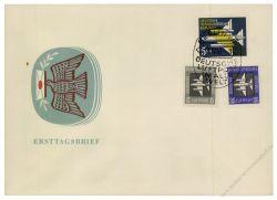 DDR 1957 FDC Mi-Nr. 609-615 SSt. Flugpostmarken