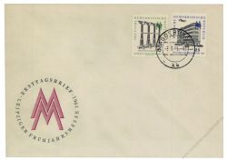 DDR 1961 FDC Mi-Nr. 813-814 ESt. Leipziger Frühjahrsmesse