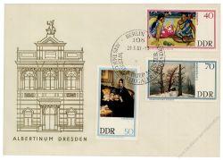 DDR 1967 FDC Mi-Nr. 1262-1267 SSt. Staatliche Kunstsammlungen Dresden