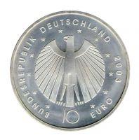 BRD 2003 J.499 10 Euro Fußball-WM-Deutschland 2006 Prägestätte: A st