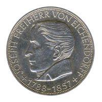 BRD 1957 J.391 5 DM Freiherr von Eichendorff vz