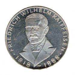 BRD 1968 J.396 5 DM Friedrich Wilhelm Raiffeisen vz-st