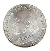 BRD 1969 J.399 5 DM Theodor Fontane st