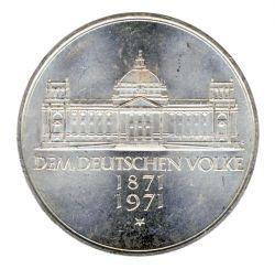 BRD 1971 J.409 5 DM Reichsgründung 1871 vz-st