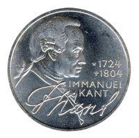 BRD 1974 J.414 5 DM Immanuel Kant vz-st
