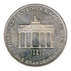 BRD 1991 J.452 10 DM 200 Jahre Brandenburger Tor vz-st