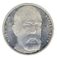 BRD 1993 J.456 10 DM Robert Koch vz-st