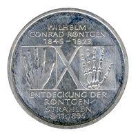 BRD 1995 J.461 10DM Wilhelm Conrad Röntgen vz-st