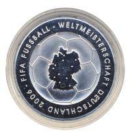 BRD 2003 J.499 10 Euro Fußball-WM-Deutschland 2006 Prägestätte: D PP