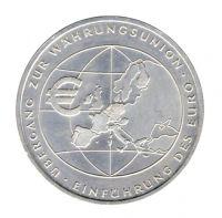 BRD 2002 J.490 10 Euro Einführung des Euro st