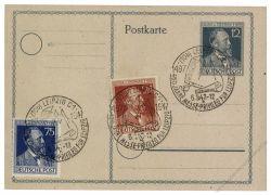 Gemeinschaftsausgaben 1947 Mi-Nr. P965 SSt. Leipzig 450 Jahre Messe-Privileg